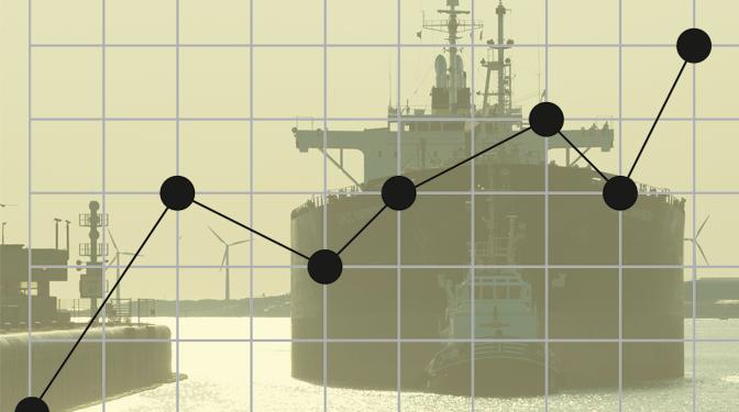 Eerste zeehavenstatistieken nieuwe stijl