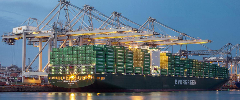 Containerschip Evergreen