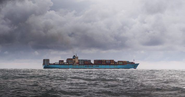 Containerschip Maersk Line