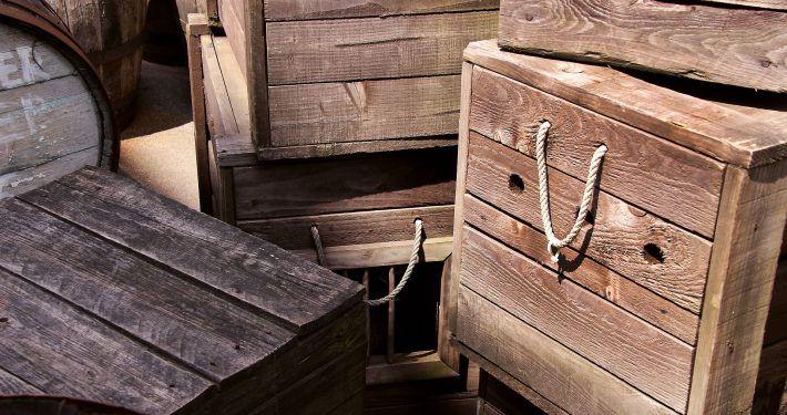 scheepsvoorraden - kisten