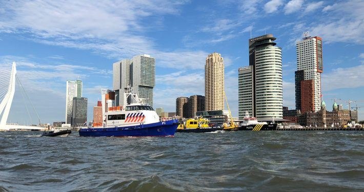 Collaboration with Port of Rotterdam, Portbase and Erasmus University for the port of the future